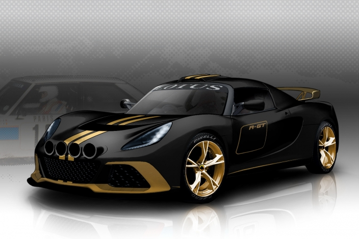 Így fog kinézni a Lotus raliautója