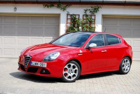 Teszt: Alfa Romeo Giulietta QV – Bűnre csábít
