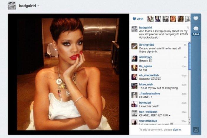 Rihanna lehet a Chanel új arca
