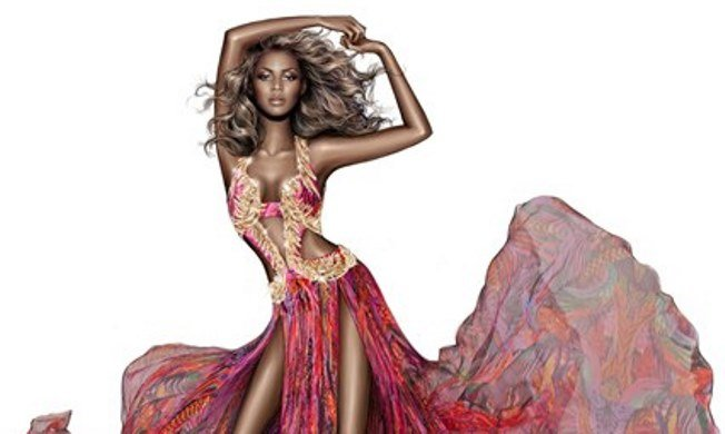 Beyonce virágba borult