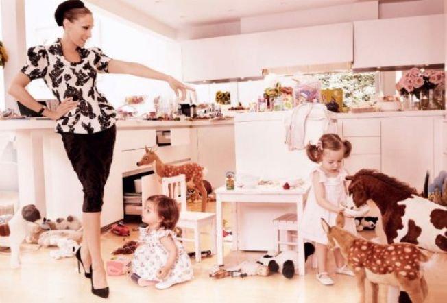 A Vogue-os anyukák
