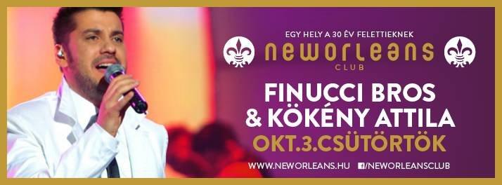 Finucci Bros és Kökény Attila a New Orleansben!