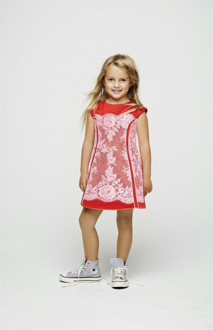 Stílusos gyermekek, márkahű anyukák Little Marc Jacobs S/S