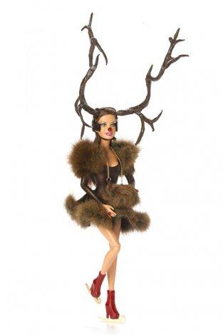 Karácsony Barbie-val