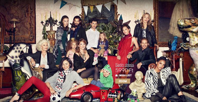 Karácsonyi varázslat a H&M - ben