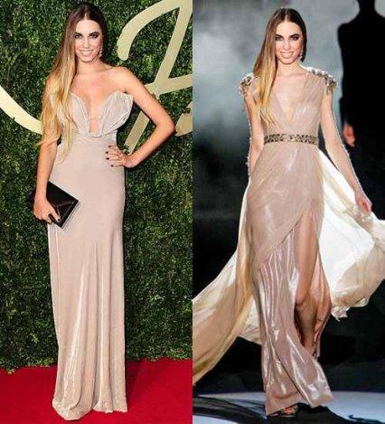 British Fashion Awards re-styling
