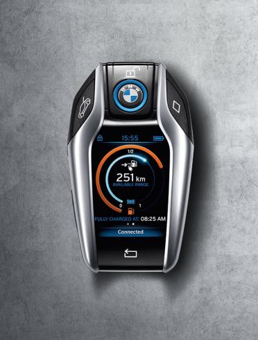 BMW i8 számítógépes kulcsa