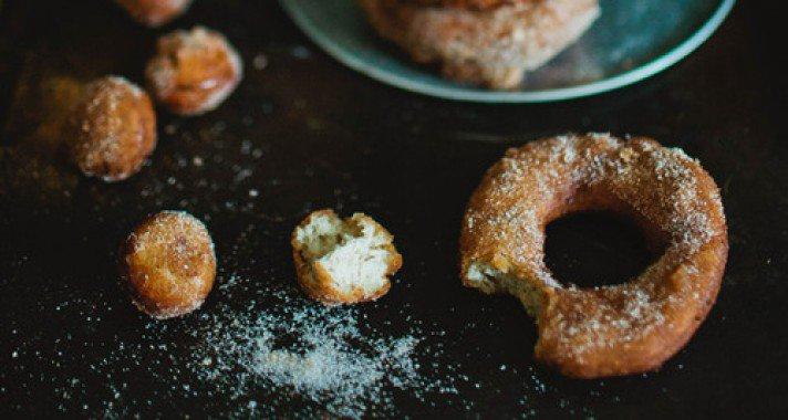 Anyu süt: Almás fánk