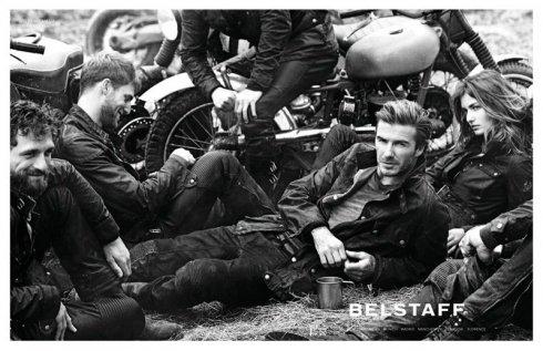 David Beckham jó bőrben