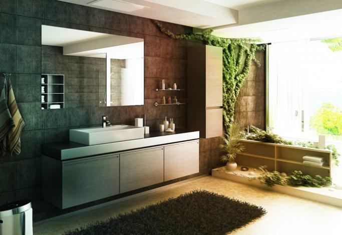 Az idei fürdőszoba trend