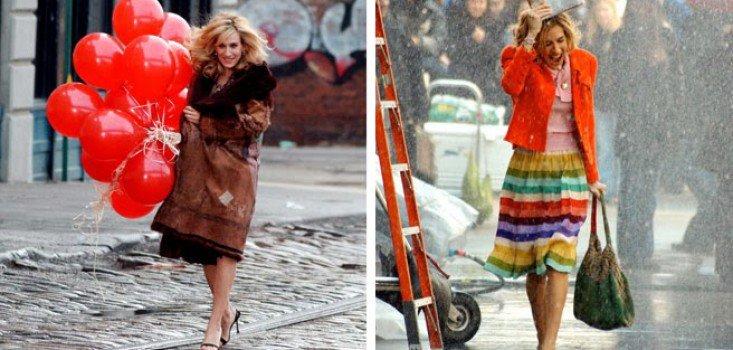 Carrie Bradshaw 25 ikonikus belépője