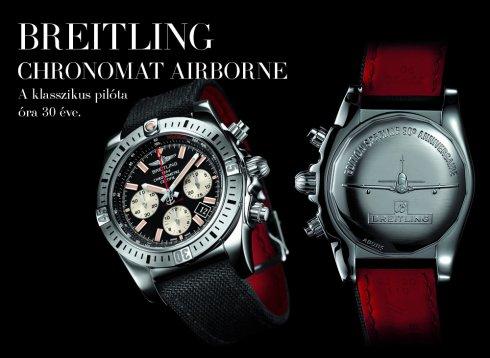 Breitling Chronomat Airborne - A klasszikus pilóta óra 30 éve