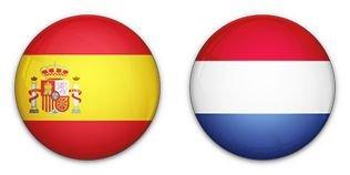 Hollandia kiütötte a címvédő Spanyolokat