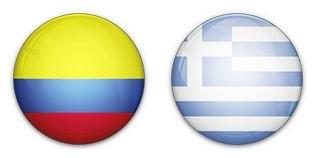 Kolumbia nem kegyelmezett a Görögöknek