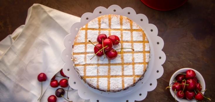 Cseresznyés-tejszínes torta kezdőknek