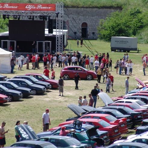 Alfa Romeok találkozója Komáromban