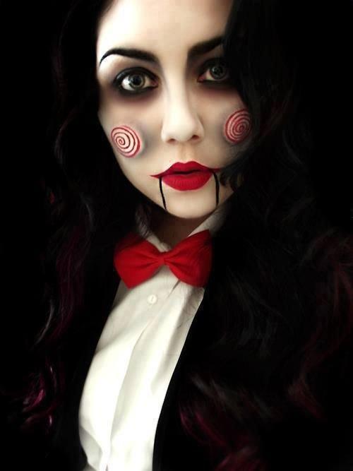 Halloween Sminkek.Elkepeszto Sminkek Halloween Re