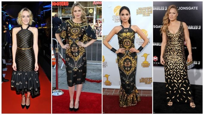 Nemzetközi hírességek magyar tervezők ruháiban