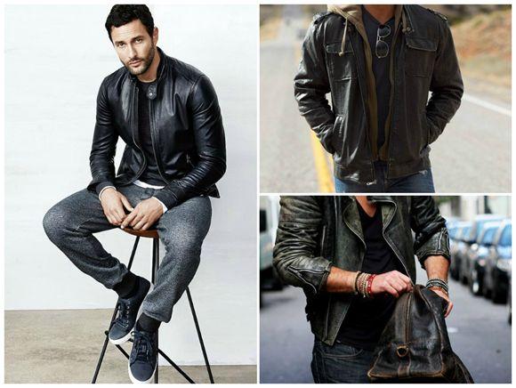 b012fd2190 Férfistílus - hogyan viseld a bőrkabátod