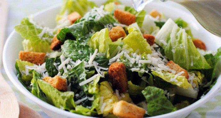 A legfinomabb Cézár saláta