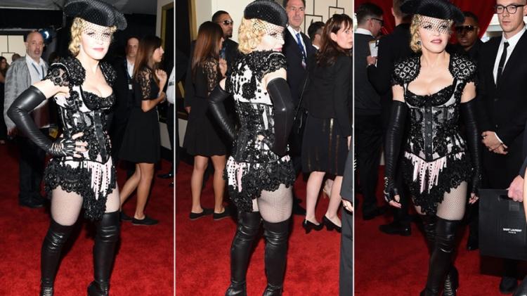 Madonna megint villantott