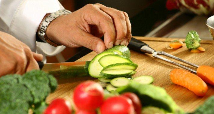 Tippek zöldségek, gyümölcsök felszeleteléséhez