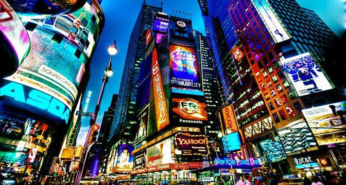 New York, a világ közepe