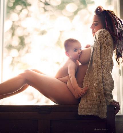 A szoptatás szépsége