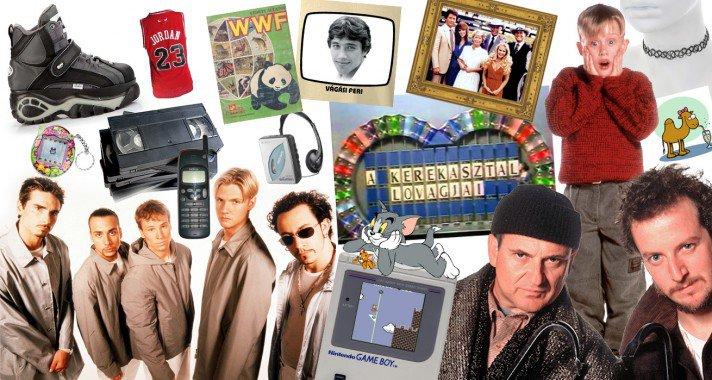 Heti üzenet - Azok a csodás '90-es évek