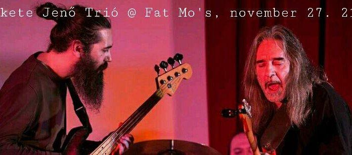 Fekete Jenő újra a Fat Mo's-ban!