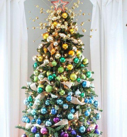 A legkreatívabb karácsonyfák