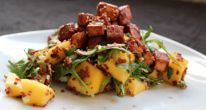 Tofu vacsorára