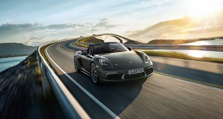 Négyet dobban - megérkezett az új Porsche 718 Boxster és Boxster S