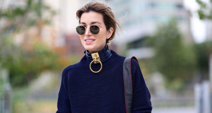 Így viseld a most újra trendi nyakláncot, a chokert!