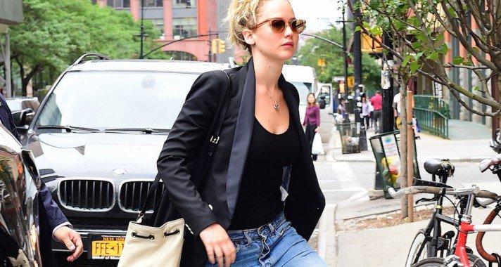 Street style inspirációk Jennifer Lawrencetől