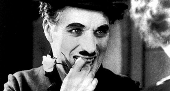 A nevetés nélküli napok ellenharcosa, Charlie Chaplin
