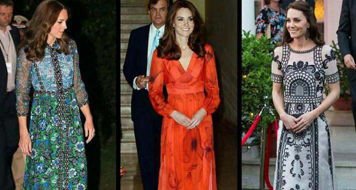A hercegnő Indiában - Kate Middleton Stílusnapló