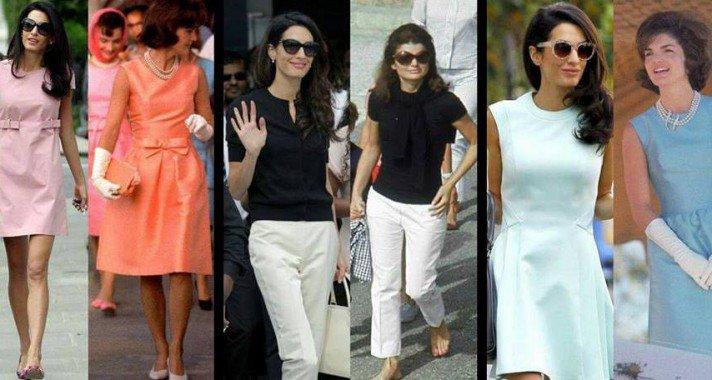 10 fotó, ami azt bizonyítja, hogy Amal Clooney Jackie Kennedy reinkarnációja (szeretne lenni)