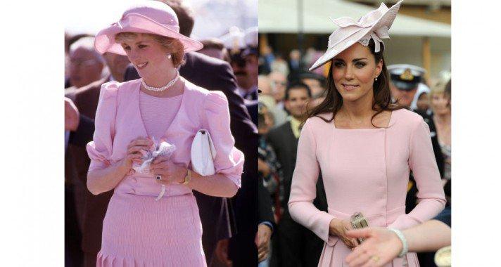 20 alkalom, amikor Kate Middleton úgy öltözött, mint Diana hercegnő