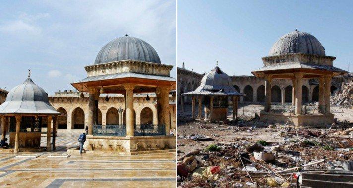 Páratlan műemlékek, melyek háborús pusztítás áldozatai lettek