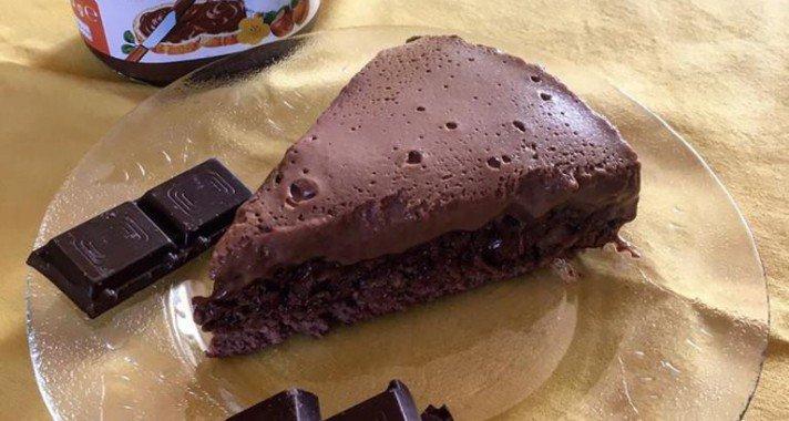 Nutellás ostya torta recept