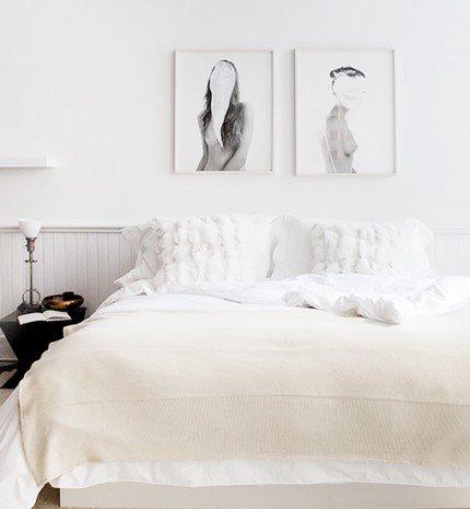 Világos hálószobák